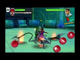 Обзор игры Spider-Man Total Mayhem для iPhone, Ipod touch и андроид